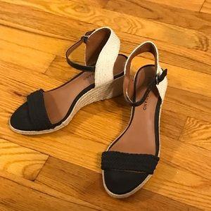 Lucky Brand Katereena Espadrille Wedge shoe 8.5